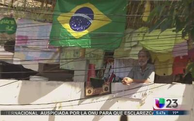 La vista del Mundial desde las favelas