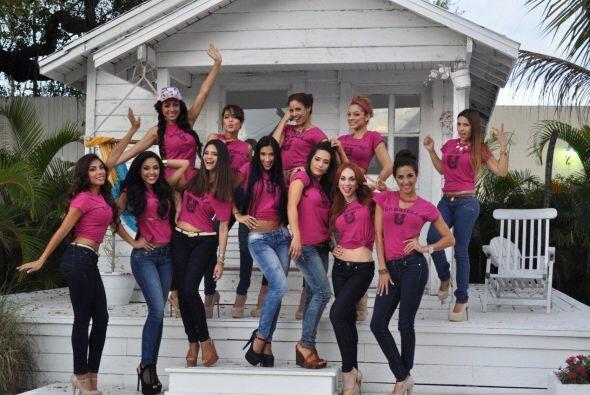 Estas 12 chicas fueron elegidas para la octava temporada de Nuestra Bell...