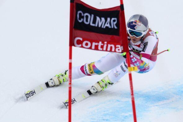 La italiana Daniela Merighetti quedó tercera a 0,54 décimas.