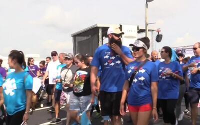 Miles de personas se reunieron en el Doral para el evento que busca la c...