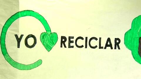 Reducir, reciclar y reutilizar, la misión de los niños de cuarto grado d...