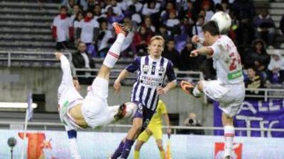 Ajaccio y Toulouse repartieron puntos.