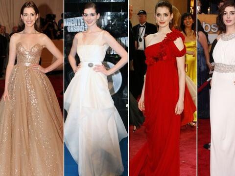 Anne Hathaway no sólo nos ha enamorado con sus actuaciones, los atuendos...