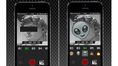 La app SLMMSK te permite distorsionar las selfies de los demás.