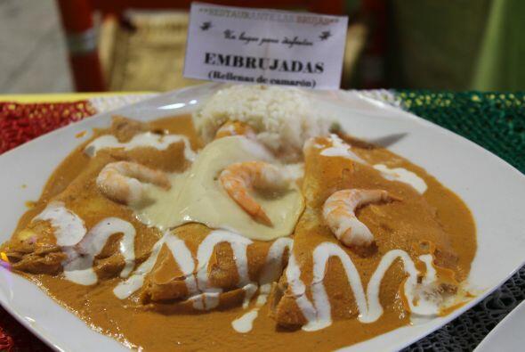 Desde Veracruz, estas enchiladas tienen una de las salsas más ricas y má...