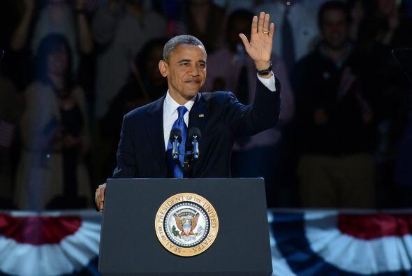 Obama, electo en los comicios de 2008, fue el primer afroamericano en co...