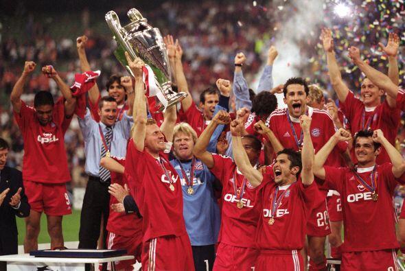 Para el 2001, el Bayern Munich se proclamó campeón al gana...