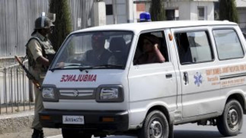 La menor fue trasladada a un hospital situado en el sur de Nueva Delhi.