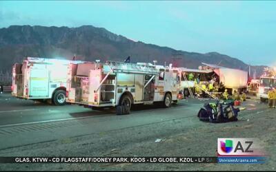 Accidente en carretera deja varios muertos y heridos
