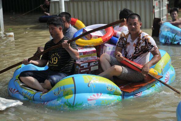 Más de 500 mil personas han sido evacuadas en algunas de las regiones an...