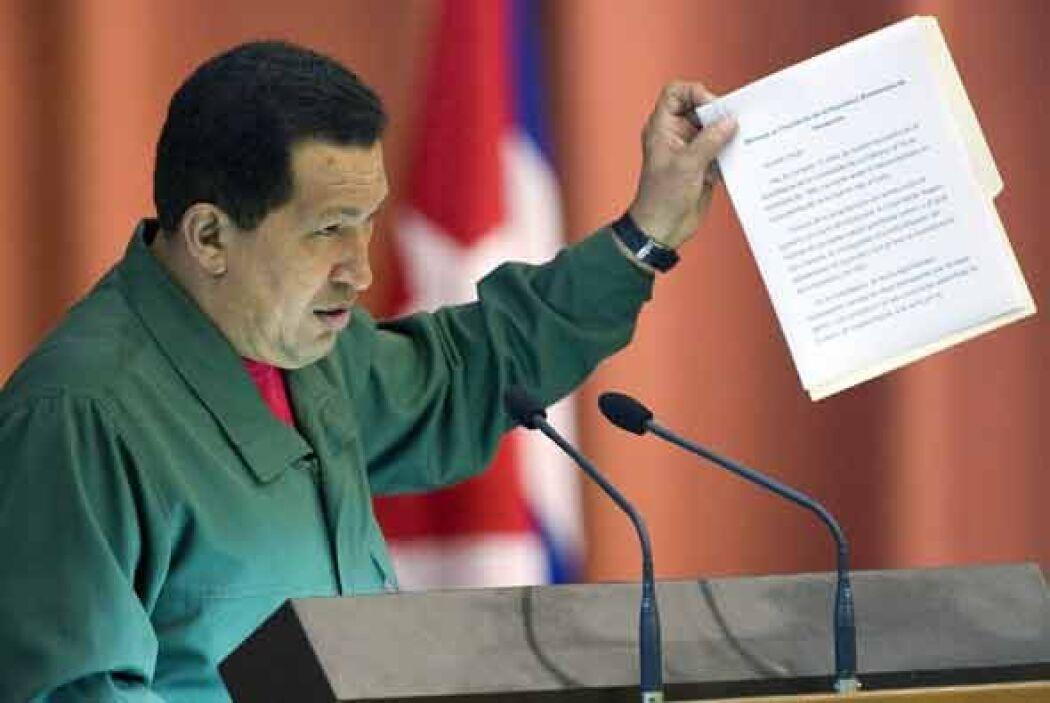 Tras la incertidumbre por la salud del comandante el presidente venezola...