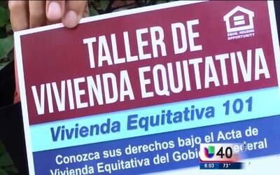 Fayetteville realiza un taller sobre vivienda equitativa