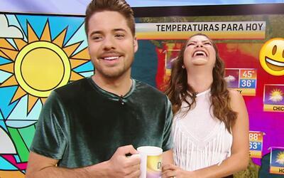 Ana Patricia contó un chiste rápido para comenzar el día