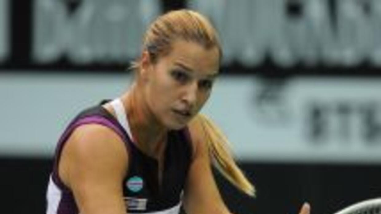 Cibulkova dejó fuera a una de las favoritas del torneo.