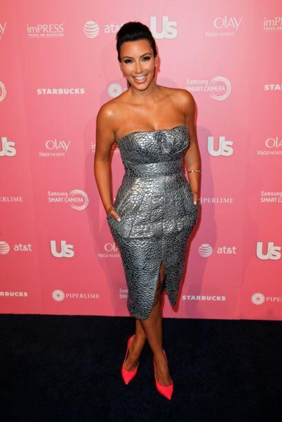 Un bronceado 'sexy' y uniforme es lo que hace que la piel de Kim se vea...