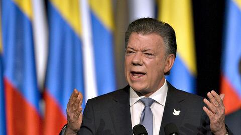 """Santos: """"todas las armas de las FARC estarán en la ONU"""""""