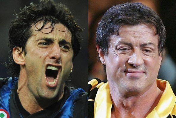 Sabemos que la imagen de la derecha de Sylvester Stallone ya es en su et...