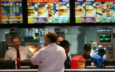 La mayoría de los restaurantes y cadenas de comida rápida...