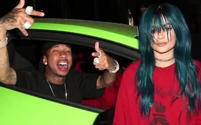 Kylie Jenner y Tyga coinciden en el mismo club