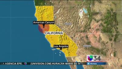 Terremoto causa pánico en California
