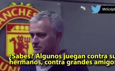 """José Mourinho: """"El fútbol no es para disfrutar, el fútbol es para ganar"""""""