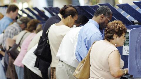 Se espera que en la elección presidencial del 8 de noviembre participen...