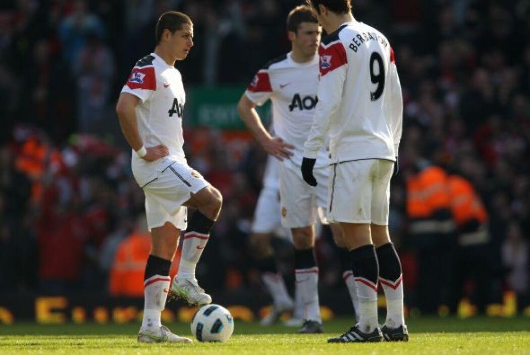 7.- A centro de Ryan Giggs, Javier saltó más que jugadores como Steven G...