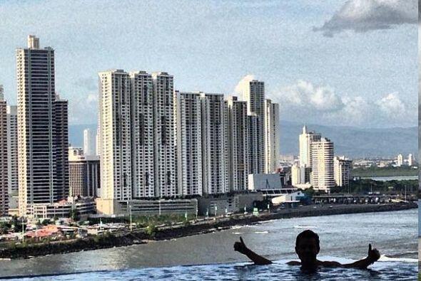 Raúl disfrutó de una hermosa vista desde esa ciudad.  Escucha El Show de...