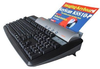 KS810-Plus Imaging Keyboard de KeyScan es un poderoso escáner a color co...