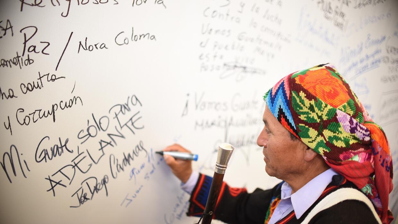 La lucha contra la corrupción en Guatemala rinde frutos