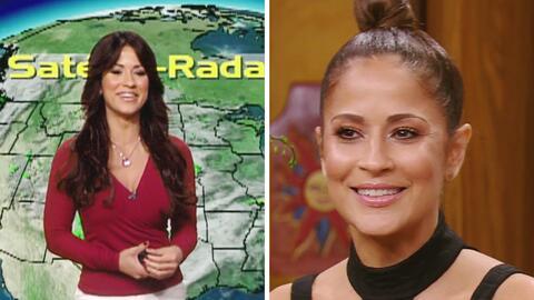 Jackie Guerrido puso de moda sus curvas como la chica del 'weather'
