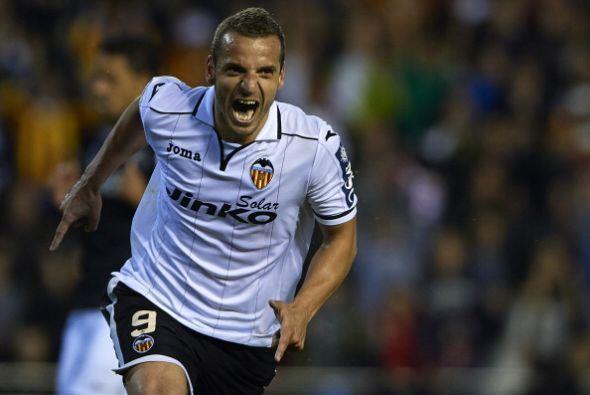 Parejo hizo el primer gol al minuto 25, dos minutos después Solda...