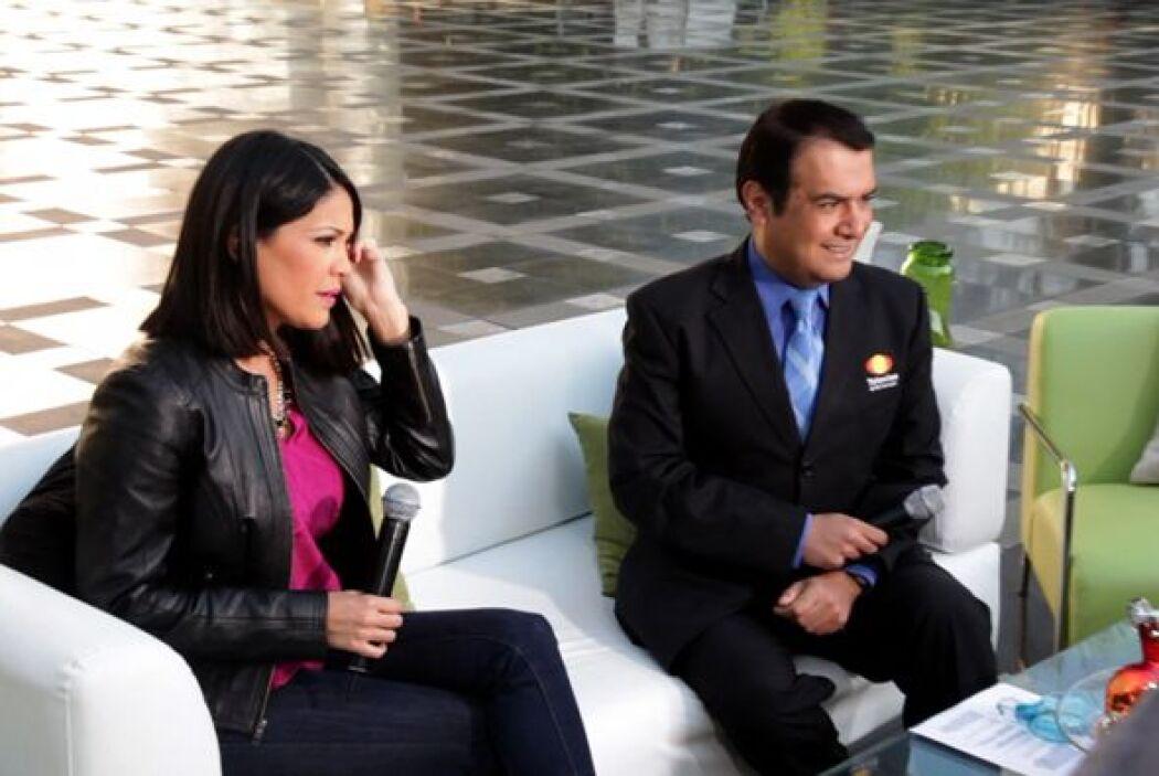 Karla Martínez estuvo transmitiendo en vivo y en directo para 'Despierta...