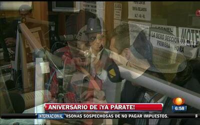 11avo aniversario del programa radiofónico ¡Ya Parate!