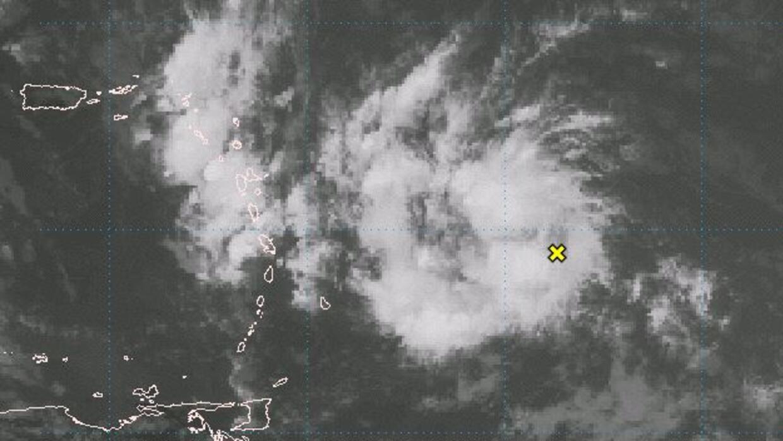 Onda tropical que entrará a la zona de Puerto Rico el sábado 30 de junio.