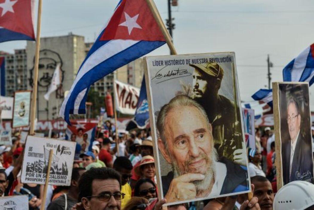 Los manifestantes también aprovecharon para recordar al expresidente ret...