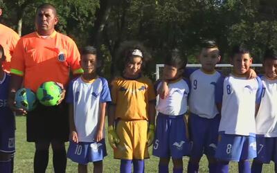 Liga infantil de fútbol hispana en Dallas
