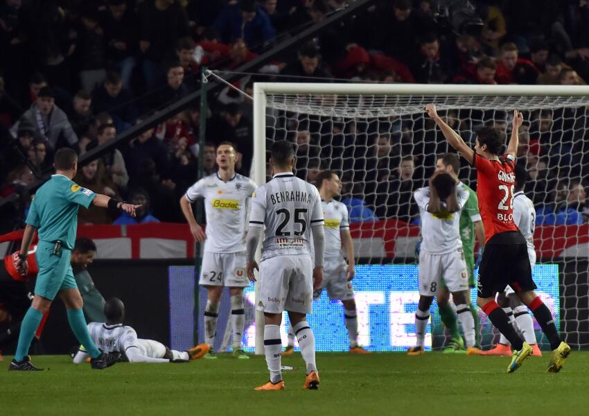 Angers cayó ante el Stade Rennais