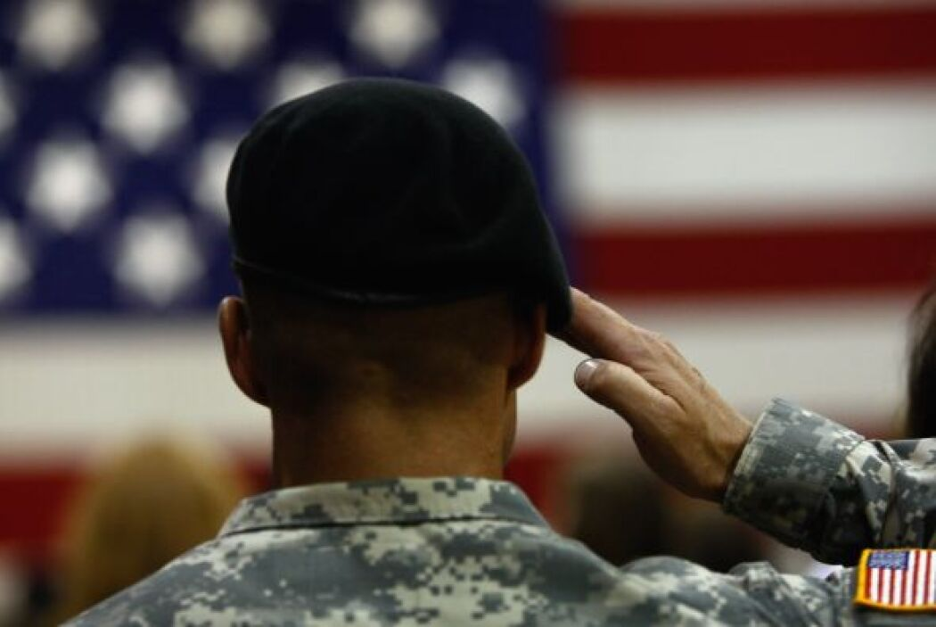 Esa presencia está lejos de haber terminado: algunos soldados de combate...