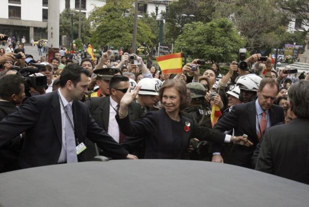 Su viaje a EEUU no impedirá que la Reina esté en Madrid el próximo jueve...