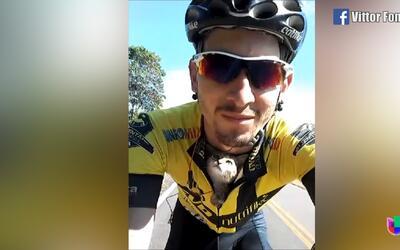 La tierna historia de un ciclista que rescató a un gatito es furor en la...
