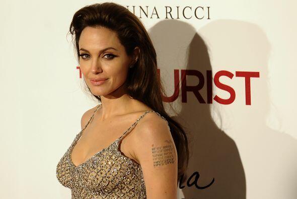 Angelina Jolie es una digna representante de la belleza de Estados Unidos.