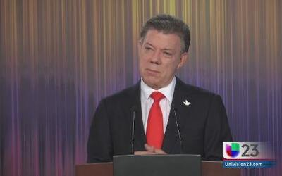 Juan Manuel Santos se compromete a terminar proceso de paz