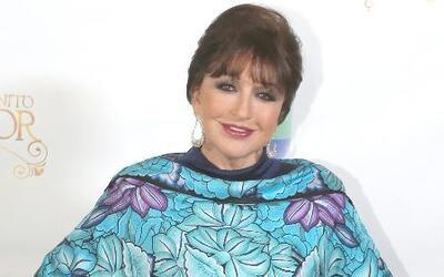 Angélica María recibió un reconocimiento por su trayectoria y está feliz...