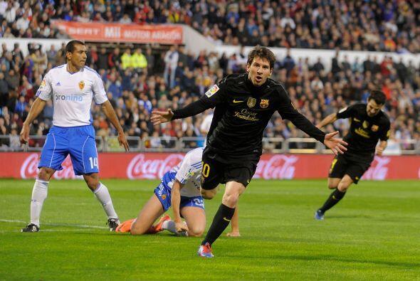 Dos minutos más tarde apareció Messi, de discreto partido, y puso el 2 a 1.