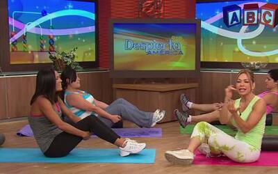De mamá a 'mamacita', con los ejercicios de Claudia Molina