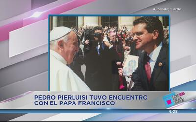 Políticos boricuas van a ver al papa Francisco en Estados Unidos