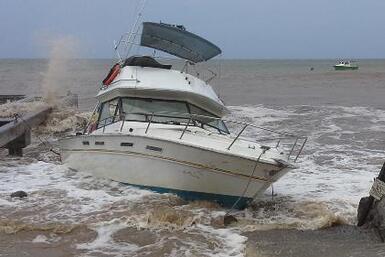 República Dominicana y Haití sufren los  estragos de Erika