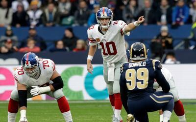 Los Giants sacaron una jugada llamada 'Trump'
