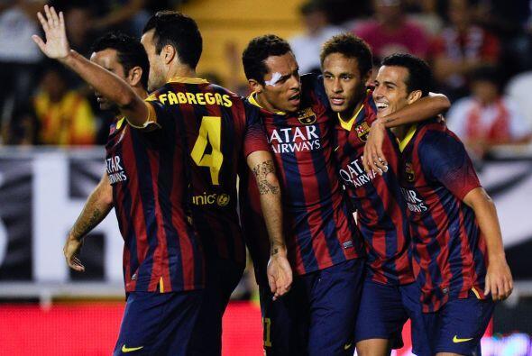 Barcelona se impuso al Rayo Vallecano en un partido que fue más parejo d...